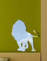 декоративное зеркало Лев