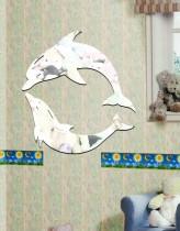 зеркало дельфины